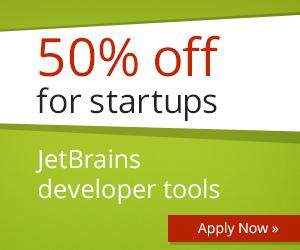 Скидки от JetBrains для стартапов