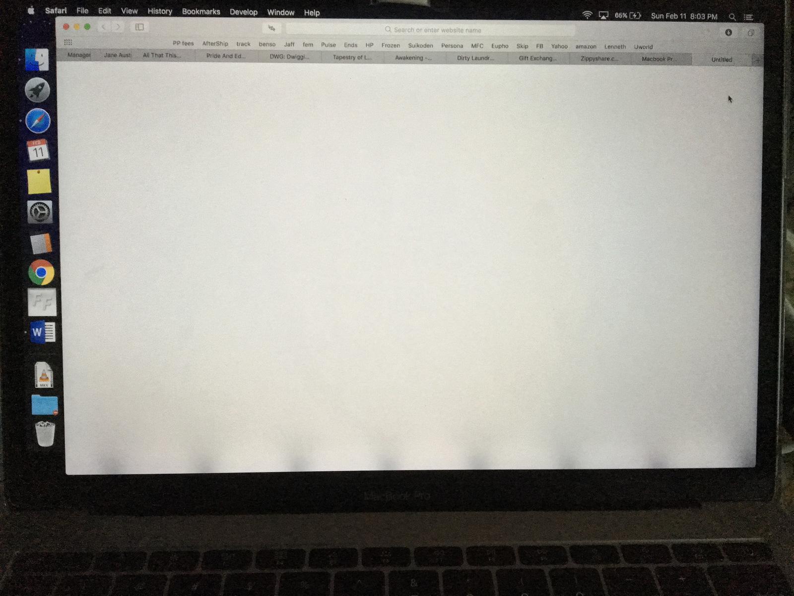 Ещё одна проблема с дисплеями MacBook Pro