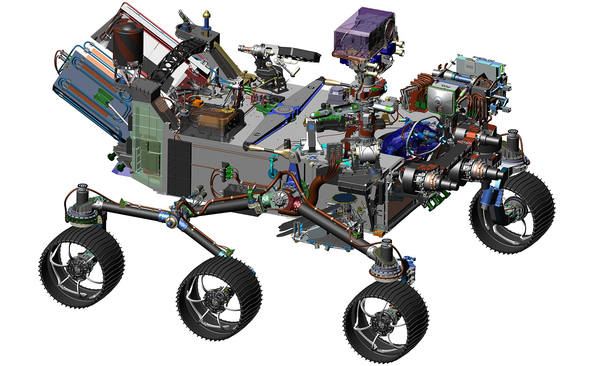 Разработчики марсохода следующего поколения используют ИИ для увеличения эффективности ровера