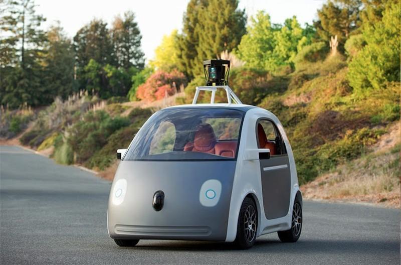 Google сконструировал собственную модель робота-автомобиля