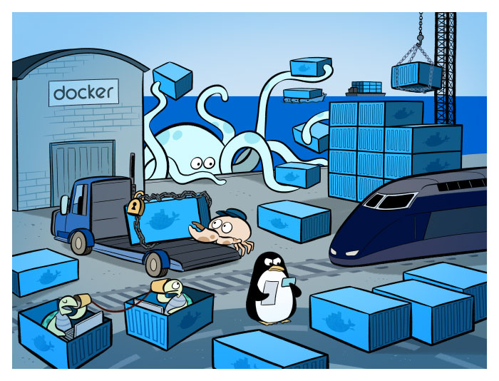 Очередная статья про Docker для новичка [nginx + php-fpm + postgresql + mon ...