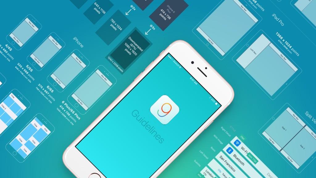 iOS 9 Design Guidelines