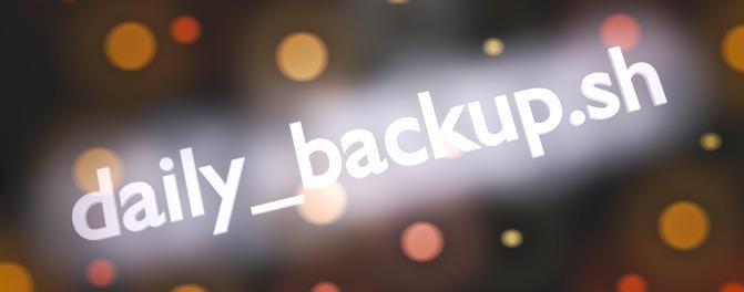 Бэкап данных с btrfs и LVM bash скриптами