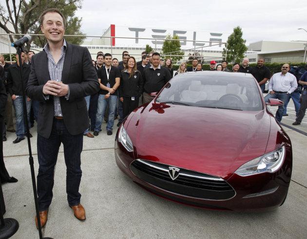 Новая модель электромобиля Tesla будет стоить 35 тысяч долларов