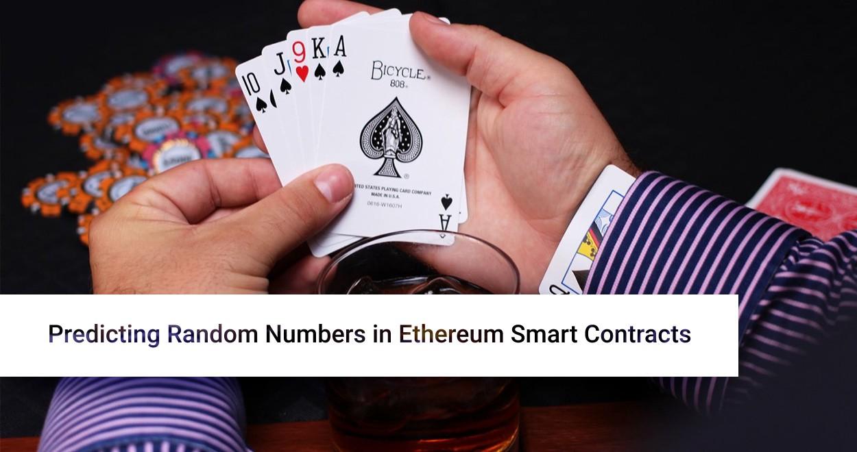 [Перевод] Предсказание случайных чисел в умных контрактах Ethereum
