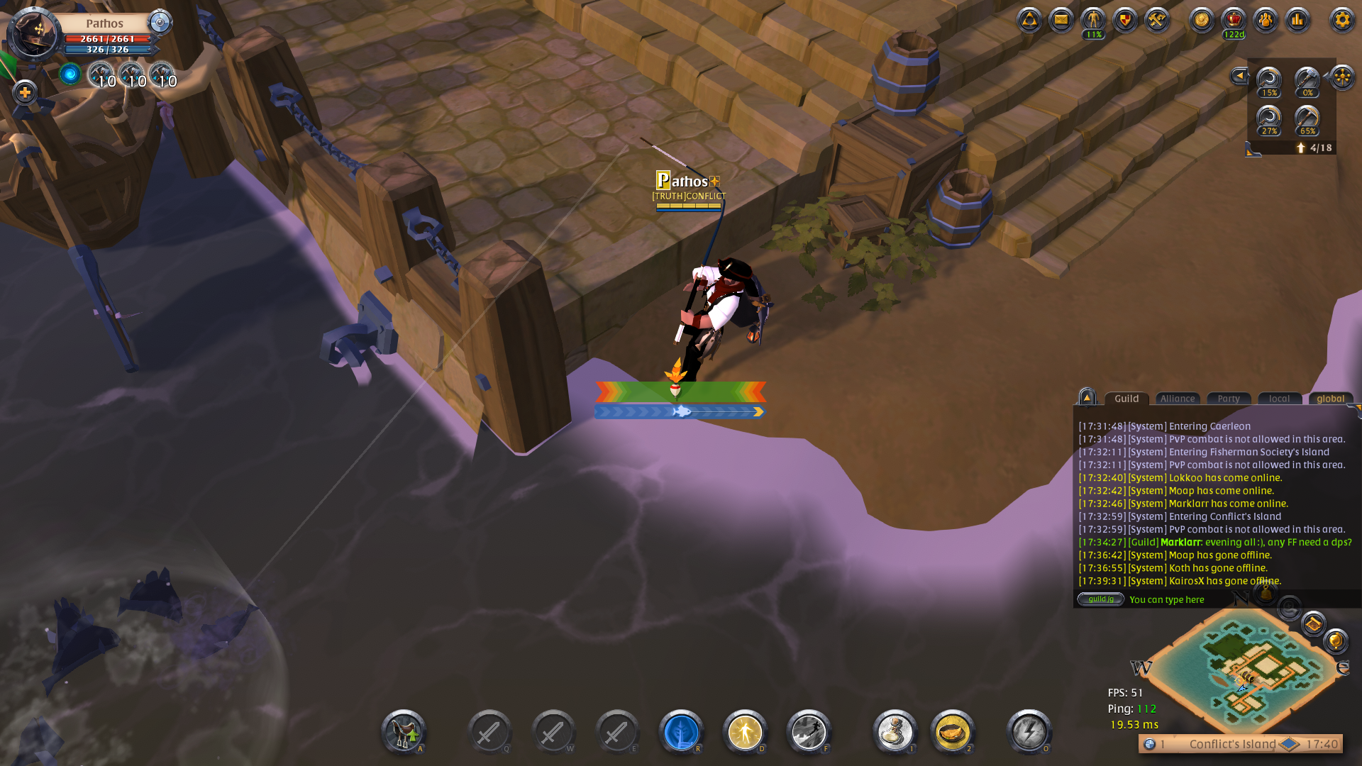 From the sandbox] Writing a fishing bot in Albion Online in