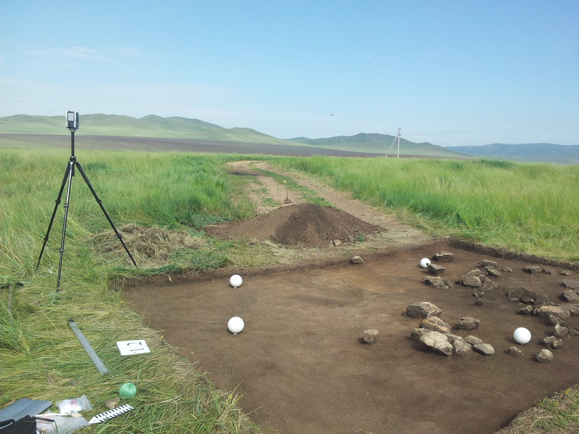 3d сканирование в археологии. личный опыт, используемое обор.