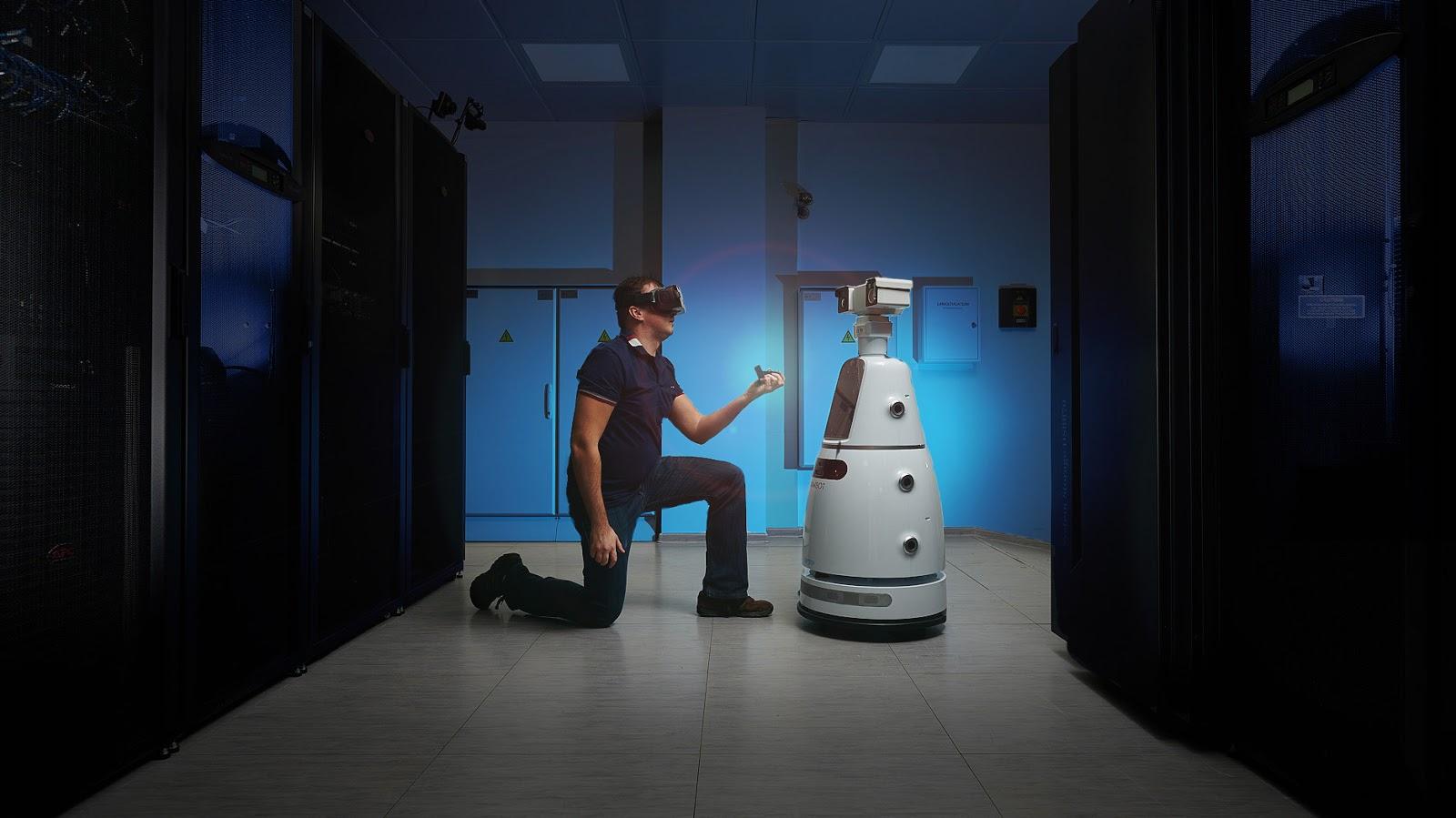 Будущее наступает: китайские роботы приехали в Россию