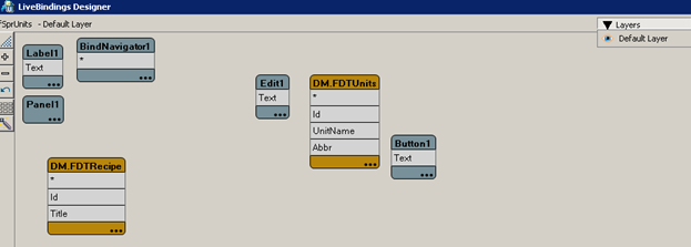 LiveBinding Designer