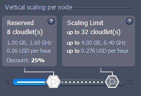 Hybrid cloudlets