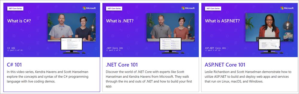 [Перевод] Новые бесплатные видео-курсы и гайды по C#, .NET, и ASP.NET для начинающих