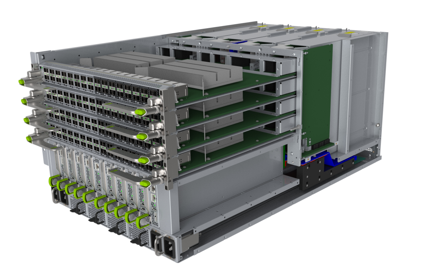Facebook представила Backpack — второе поколение модульных маршрутизаторов для дата-центров