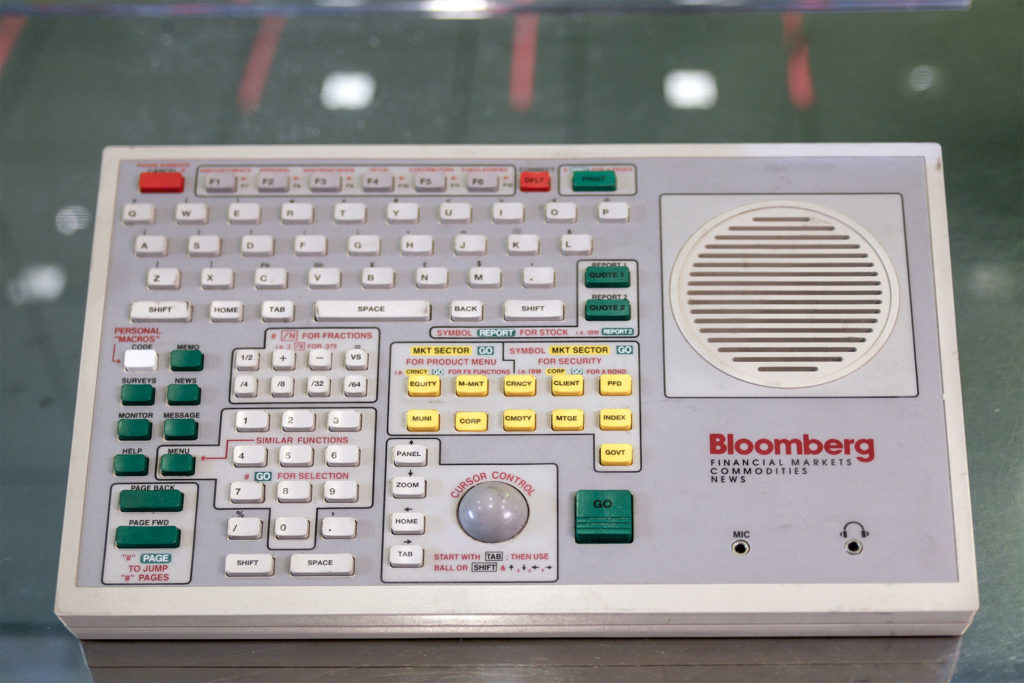 How the Bloomberg Terminal Made History   And Stays Ever Relevant
