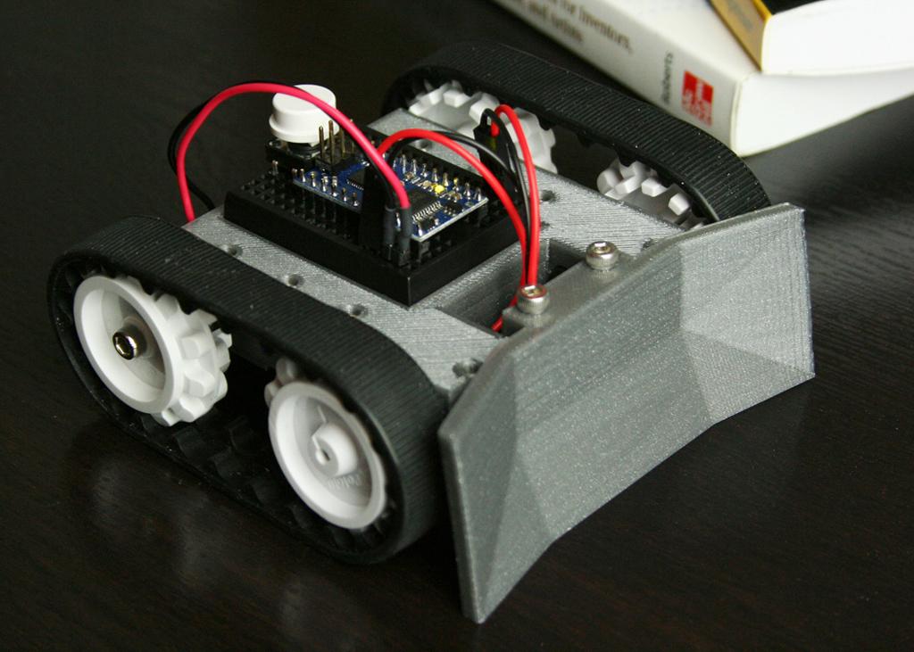Arduino Minisumo 01 Make