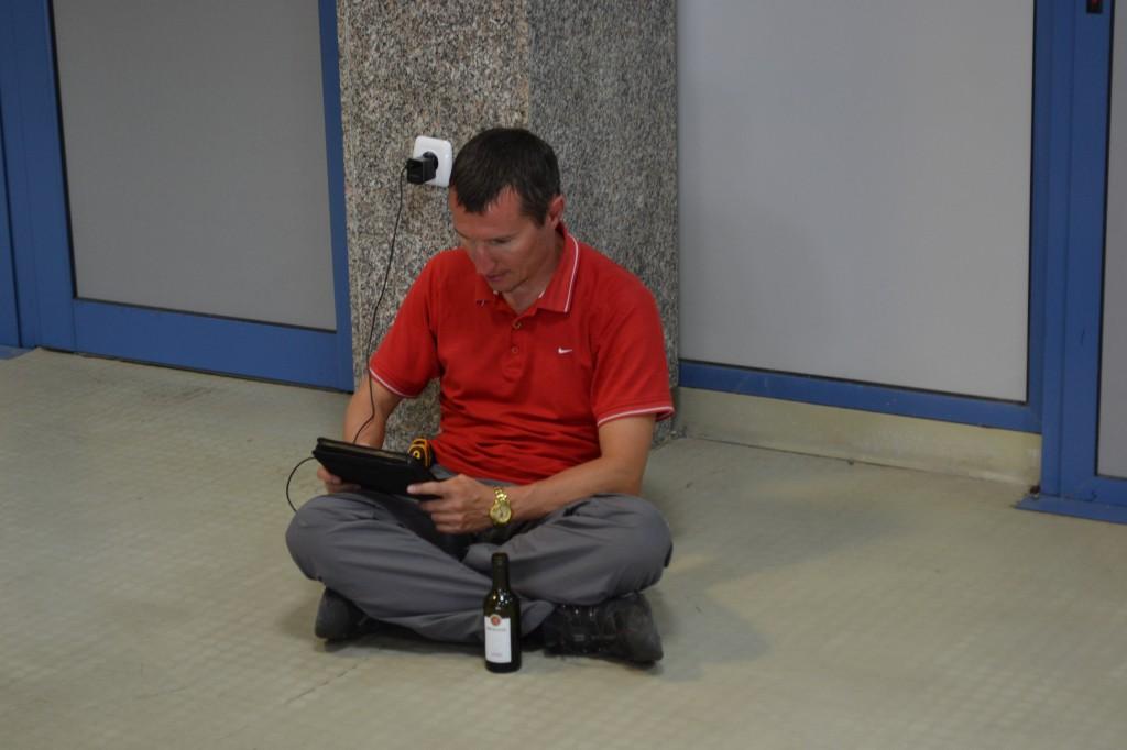 Рабочий день в аэропорту Софии
