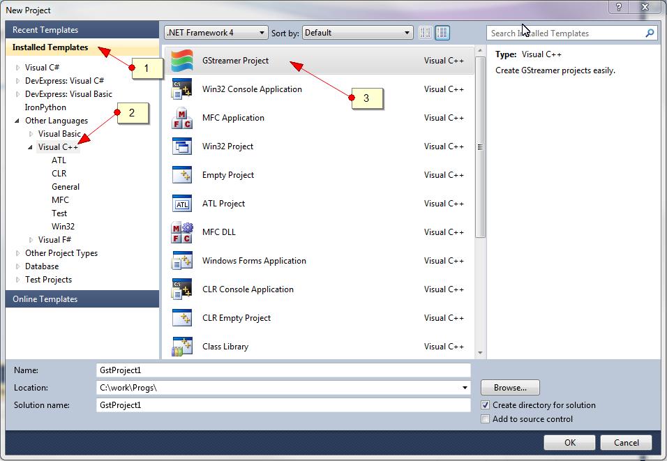 Запускаем Visual Studio (или