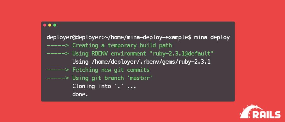 Деплой Ruby on Rails приложения при помощи Docker и Mina