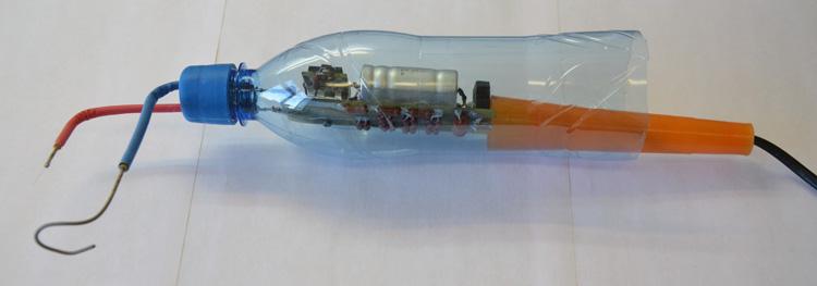 Электроды ВС-2 изготовлены из