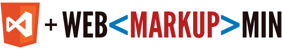Web Essentials and WebMarkupMin Logos