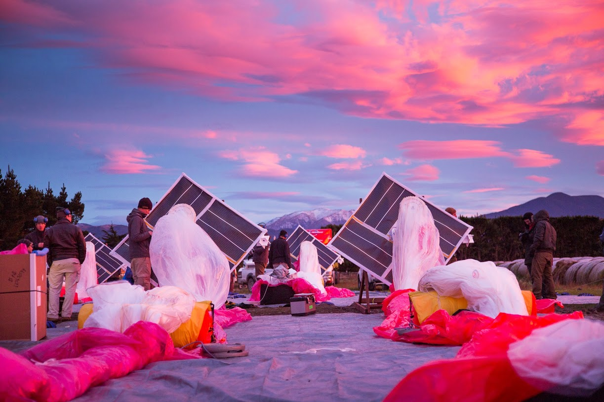 Project Loon as a commercial project: the first contract
