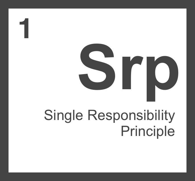 Single Responsibility Principle. Не такой простой, как кажется
