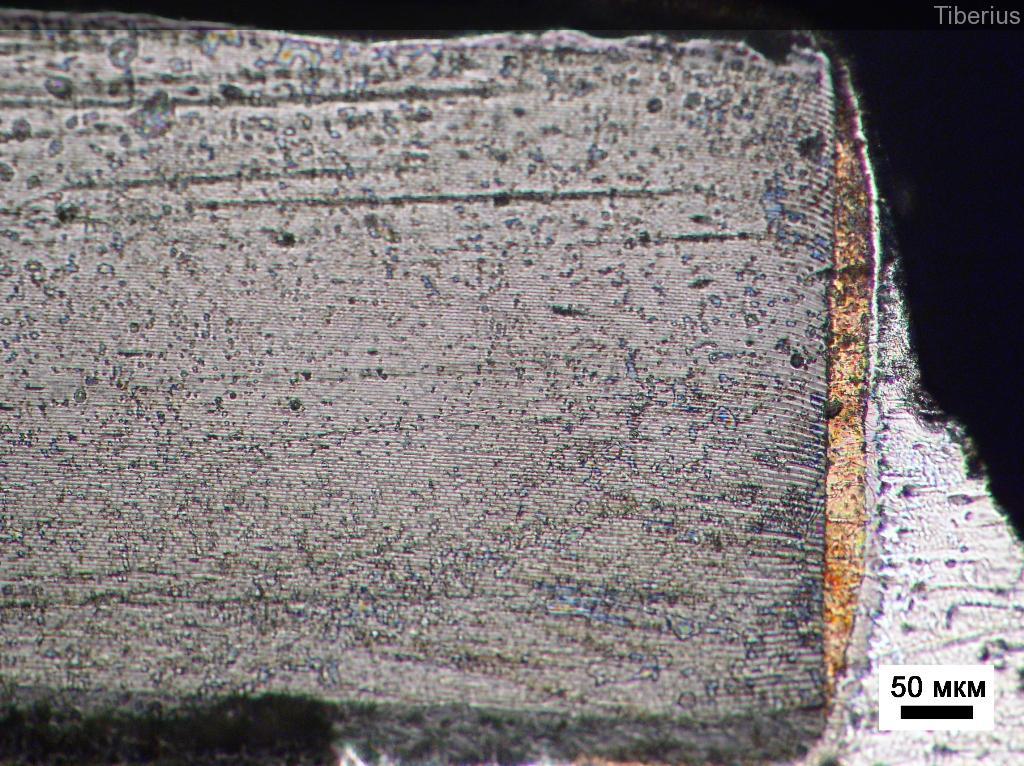 Оптическая фотография элемента