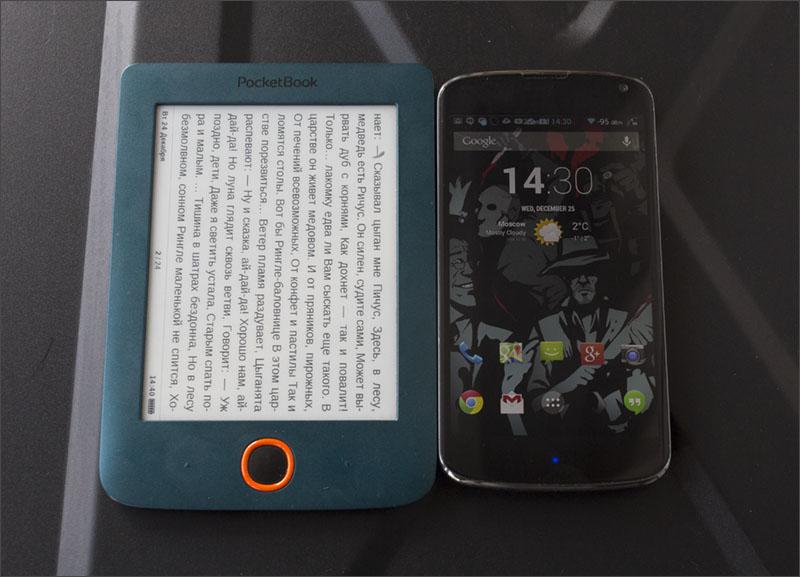 Купил > залил > в карман! Обзор PocketBook 515