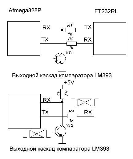 На верхней схеме показано