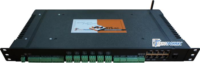 КУБ-БС — контроллер «на вырост» для мониторинга объектов контейнерного типа, в том числе, Базовых станций сотовой связи