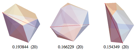 Random solutions for picking points on a polyhedron