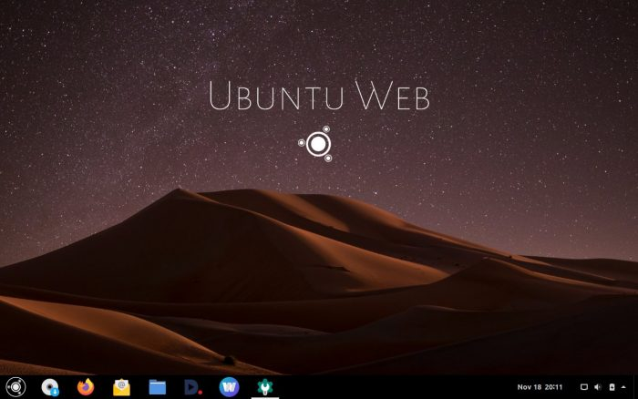 Ubuntu Web Remix  альтернатива Chrome OS c браузером Firefox вместо Google Chrome