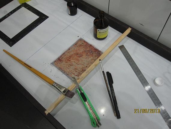 Модернизации зеркала в прихожей