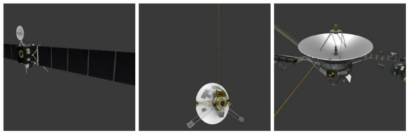 Собственный Voyager — всем и каждому: NASA выложило 3D модели спутников и астероидов для любителей 3D печати