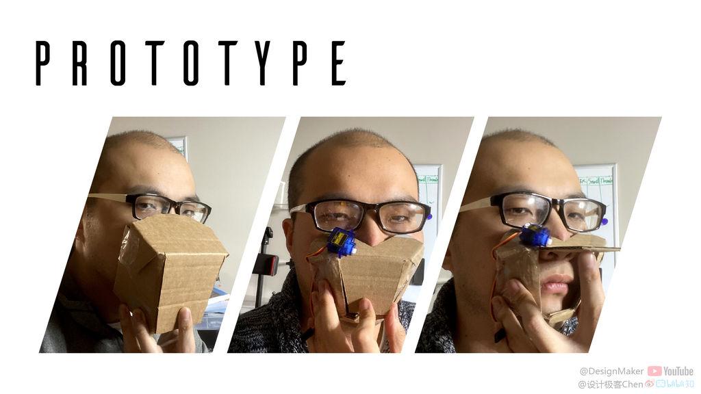 Перевод Стеснительная маска, автоматически закрывающаяся при виде людей
