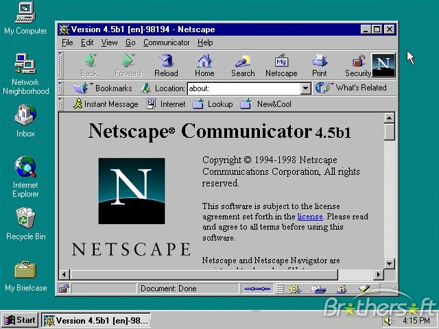 an introduction to the history of netscape communications corporation Need writing communications corporation essay use our custom writing services or get access to database of 7 free essays samples about communications corporation.