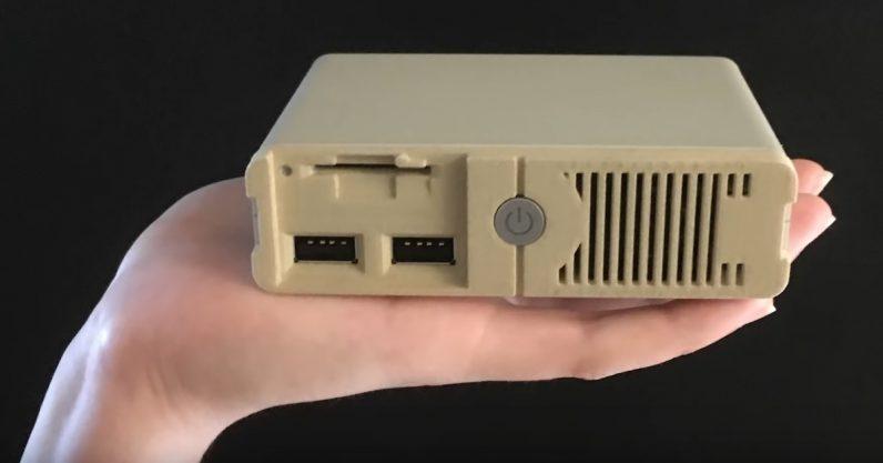 Полку ретроконсолей прибыло: PC Classic для тех, кому дороги DOS-игры