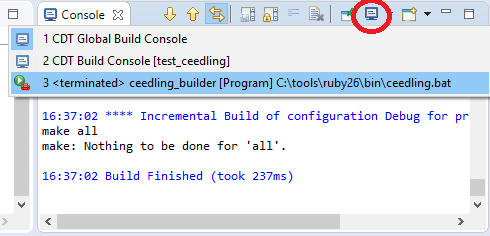 Ceedling + Eclipse or unit tests for microcontrollers