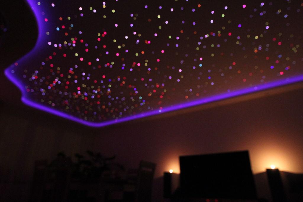 Перевод Делаем звёздное небо на потолке при помощи оптоволокна и Arduino