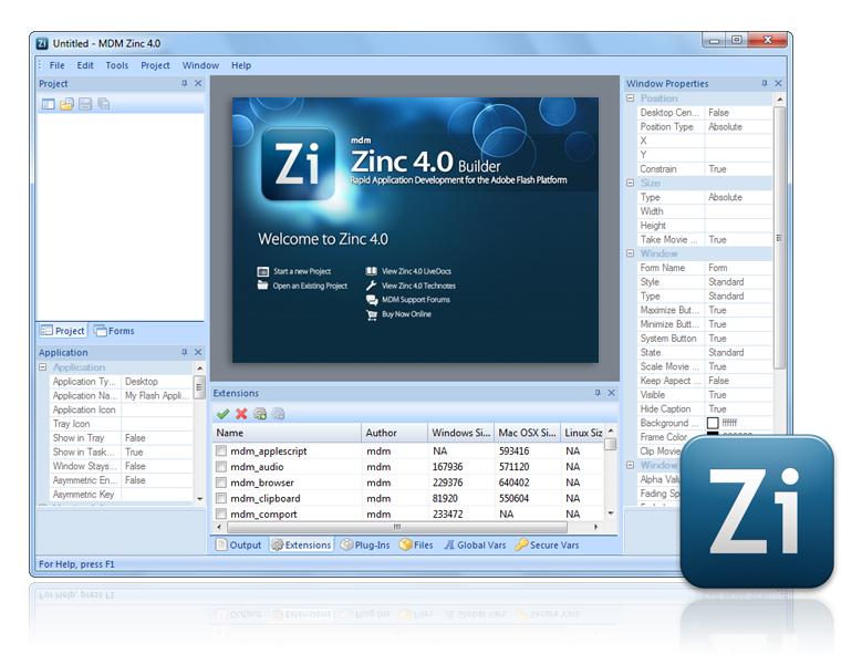 MDM Zinc 4.0