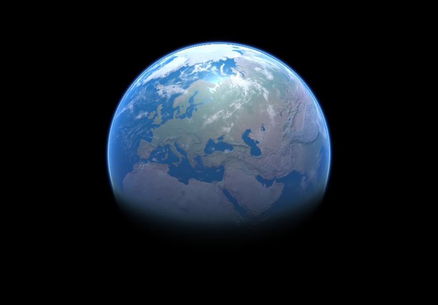 Объёмное атмосферное рассеяние света