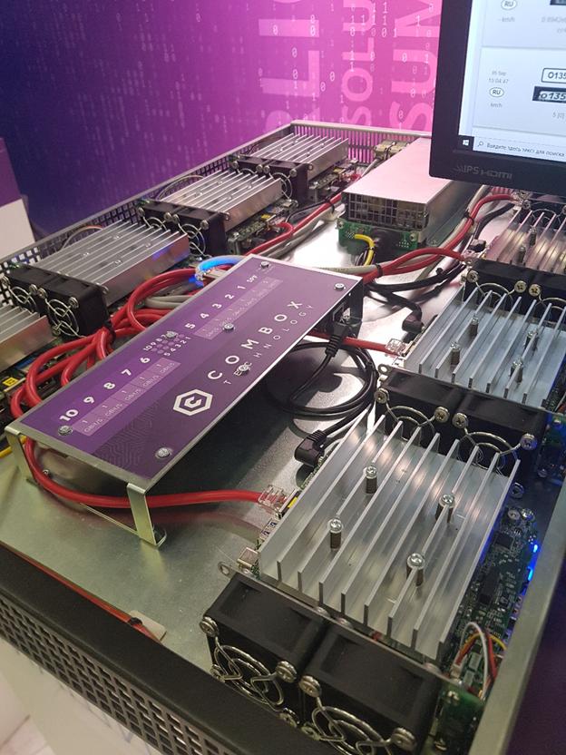 Прототип сервера NUC Server от ComBox Technology, 8 CPU Core i5 и 8 GPU Iris Plus 655 в форм-факторе 1U