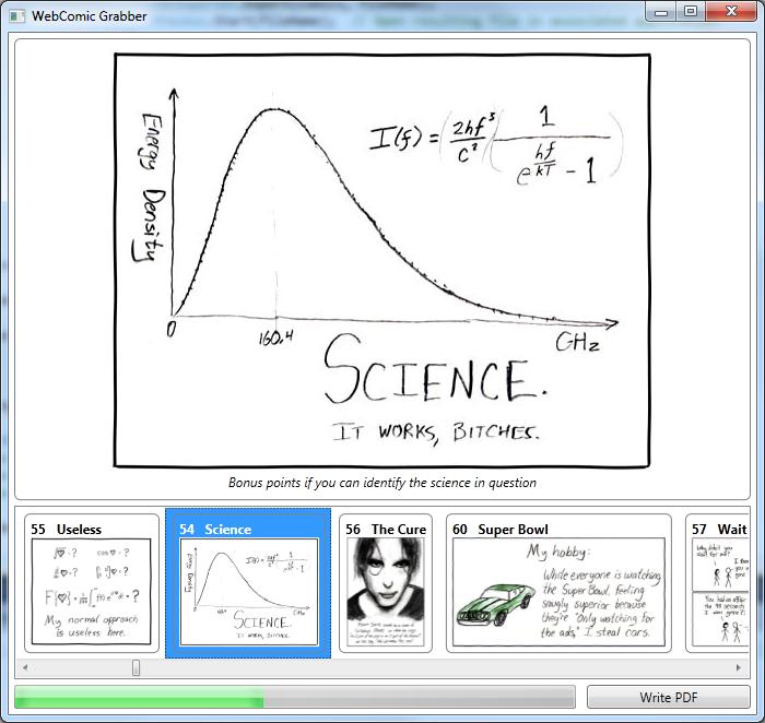 Webcomic Grabber Screenshot