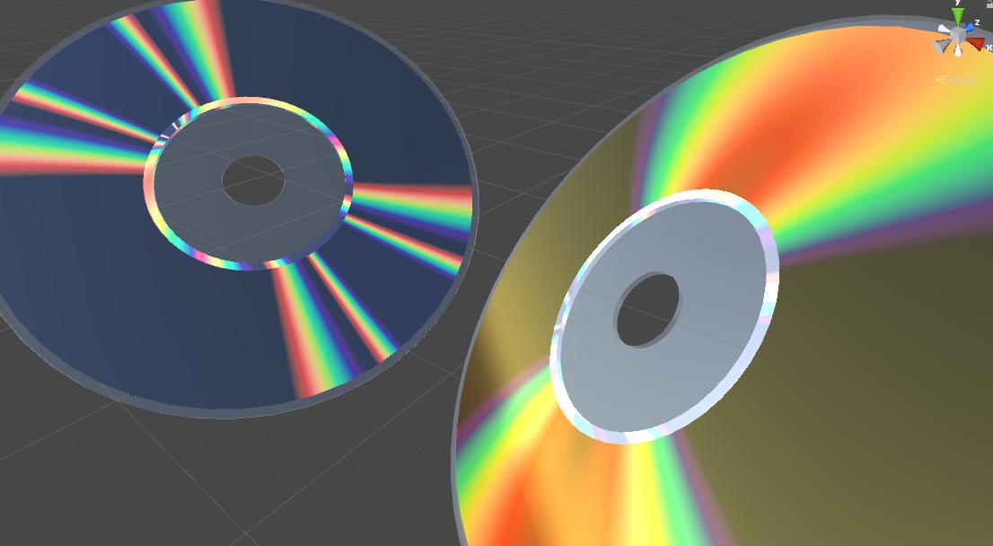 Имитируем иридисценцию: шейдер CD-ROM