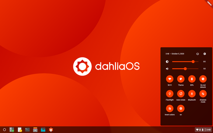Fuchsia, необычную операционную систему от Google, взяли за основу для проекта dahliaOS