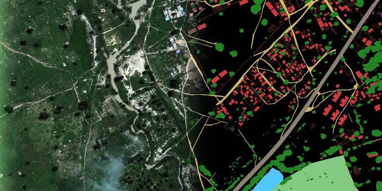 Как программно разметить спутниковую фотографию? Решение задачи Dstl Satellite Imagery Feature Detection