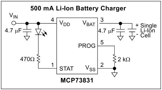 Контроллер управления зарядкой