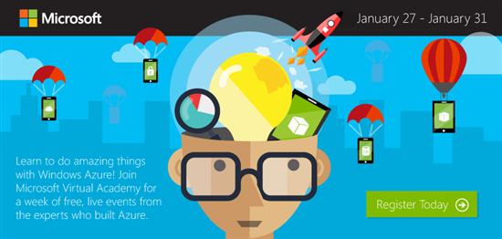 Неделя бесплатных онлайн-курсов Windows Azure, регистрация открыта!