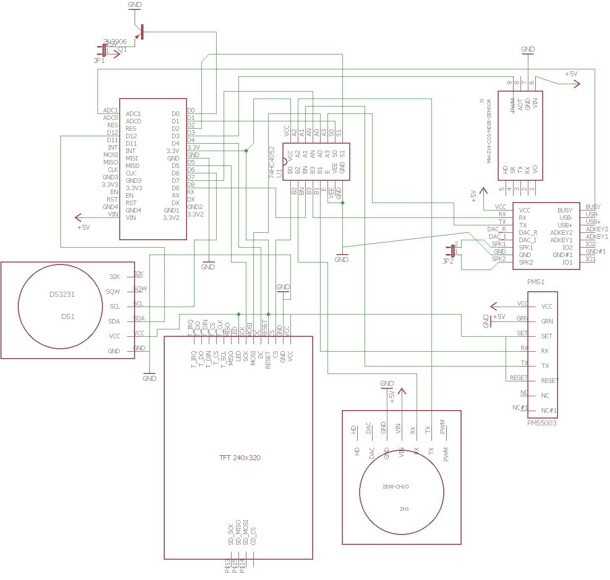 Монитор, качества воздуха в помещении