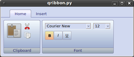 Ribbon? It's simple! or working with cascading style sheets