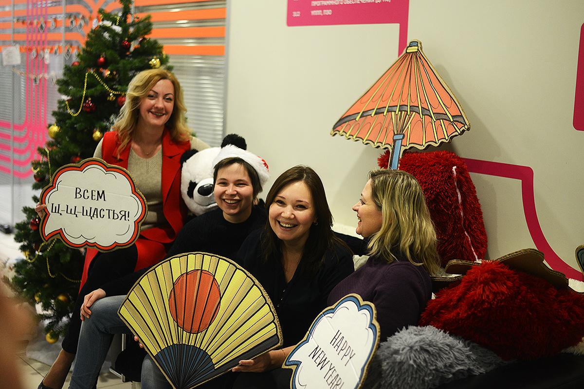 Фукубукуро в офисе ЛАНИТ: делимся мешком счастья